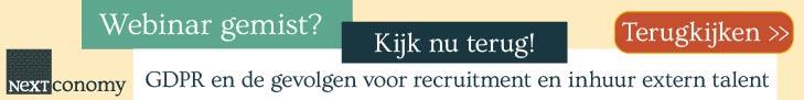 Banner van NextConomy – GDPR terugkijken