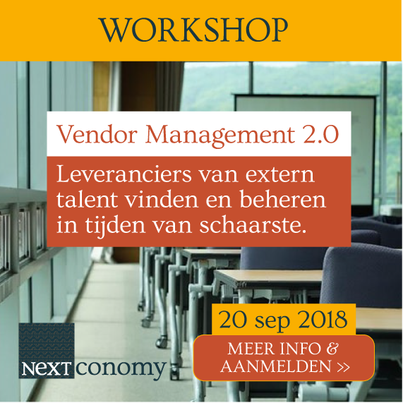 Banner van Leveranciers workshop