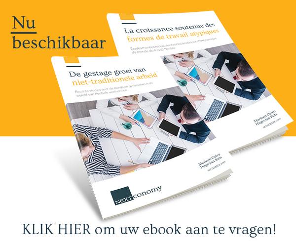 Banner van onze partner De gestage groei van niet-traditionele arbeid