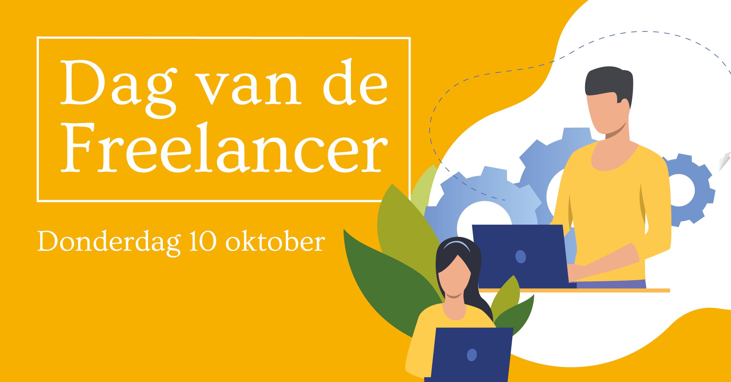 Banner van onze partner Dag van freelancer 2019