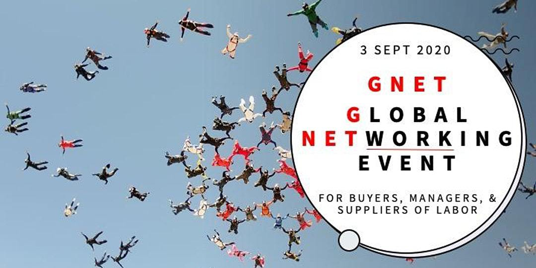 Banner van onze partner GNET: Global Networking